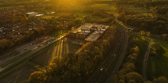 Autumn Colour (Steve Samosa Photography) Tags: autumn autumntrees sunset sun aerial aerialview dronecamera drone droneshot
