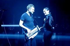 Damon Albarn & Jehnny Beth (1) (Mhln) Tags: gorillaz live concert paris zenith humanztour damonalbarn