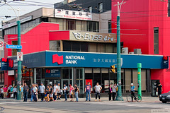 National Bank of Canada Toronto Chinatown branch (Canadian Pacific) Tags: toronto ontario canada canadian bank banking bankology nationalbankofcanada chinatown branch chinese chineselanguage spadina avenue ave dundas street st w west 2015aimg8551 building architecture 501 banquenationaleducanada