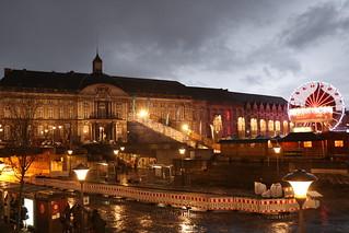 Le Palais des Princes Évêques et la place St-Lambert (Liège 2017)