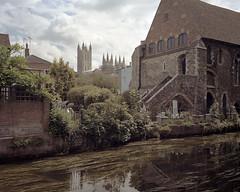 Canterbury, 2017 ([Photom]) Tags: 120 6x7 format kent mamiya7ii newtopographics banal deadpan film kodakportra160 landscape mediumformat mundane urban
