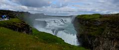Gullfoss waterfall, Iceland (Meino NL) Tags: gullfoss gullfosswaterfall goudenwaterval gletsjerrivier hvítá gletsjerrivierhvítá witterivier ijsland iceland