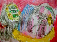 Hide And Seek (giveawayboy) Tags: pencil crayon eraser drawing sketch art acrylic paint painting water brush fch tampa artist giveawayboy billrogers hide seek wmotf