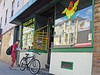 BostonPollosALaBrasa (fotosqrrl) Tags: boston massachusetts streetphotography urban eastboston eastie benningtonstreet chicken restaurant betos bicycle