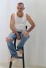 Chistophe 94 (Phoenix Blue Parangon) Tags: man mâle masculin poilu hairy tatoo tatouage