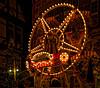 Little Big Wheel (Elenovela) Tags: marburg germany hessen weihnachtsmarkt christmasmarket christmastime weihnachtszeit riesenrad bigwheel restlicht availablelight nacht night nightshot nachtaufnahme olympusomdem1 minoltarokkor58mmf12 speedbooster elenovela karstenmüller