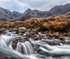 Allt Coir' a' Mhadaidh (anicoll41) Tags: skye highland scotland gb cascade lively river mountains cuillin