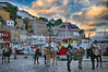 Piazza (Dimitil) Tags: ydra idra hydra idhra attica islands greekislands saronikos gulf saronikosgulf argosaronikos argosaronikosgulf greece hellas winter clouds sunrise tradition traditionalsettlements architecture traditonalarchitecture animals historicalplaces