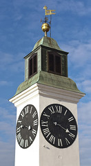 Nevena Uzurov - Clock tower (Nevena Uzurov) Tags: novisad petrovaradin fortress clock clocktower serbia nevenauzurov