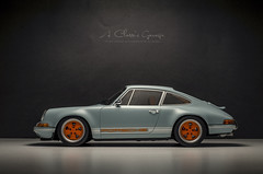 2014 Singer Porsche by Rob Dickinson (aJ Leong) Tags: 2014 singer porsche by rob dickinson 118 cult scale models classic car 911 vintage vehicles automobiles garage model photography