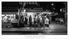 Gelato Stand, Evening (G Dan Mitchell) Tags: newyork city state manhattan littleitaly gelato stand people night street urban blackandwhite monochrome nyc summer evening sidewalk alleva canoliworld usa north america