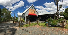 Back of the Salty Dog Seafood Cafe and Rustic Reproductions Gallery at Coolongolook, just South of Nabiac, NSW (Black Diamond Images) Tags: saltydogcafé saltydogrestaurant takeawayfood coolongolook midnorthcoast nabiac nsw greatlakesnsw australia panorama appleiphone7plus iphone7plus appleiphone7pluspanorama iphone7pluspanorama iphonepanorama saltydogseafoodcafe rusticreproductions rusticreproductionsgallery seafoodcafe saltydogvillage