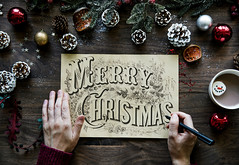 Christmas wishing card (fairyflick) Tags: aerial background card celebrate celebration christmas decorate decoration festival festive hand holiday hotchocolate merrychristmas newyear noel occasion pinecones psd season tradition typography warmth winter wish wishing writing xmas yule yuletide
