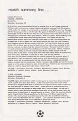Falkirk vs Partick Thistle - 1976 - Page 3 (The Sky Strikers) Tags: falkirk partick thistle brockville scottish league one bairns view official programme 10p division