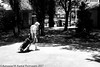 Mind Your Own Business Son! (Aleksandar M. Knezevic Photography) Tags: ngc old woman smoker smoking walking street mmonochrome bw blackandwhite blackwhite urban documentary serbia srbija beograd belgrade reallife
