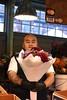 Seattle Pike Place Market (MoniLizar) Tags: seattle pike place market streetphotography flower florist light visa master card bouquet