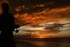 THE FISHERMAN (BoazImages) Tags: cuba sunset weather boazimages caribbean havana floridastraits silhouette
