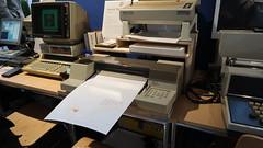 HP 86B mit Peripherie (1983) (stiefkind) Tags: vcfb vcfb2017 vcfb17 vintagecomputing hp hp86b 86b