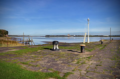 Lydney Harbour & the River Severn, Gloucestershire (Baz Richardson) Tags: gloucestershire lydney lydneyharbour riversevern quays ancientmonument