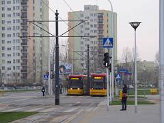 """Pesa 128N """"Jazz-Duo"""", #3602 & #3633, Tramwaje Warszawskie (transport131) Tags: tram tramwaj pesa 128n jazzduo tw warszawa ztm warsaw"""