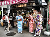 Japanese Ice Cream Shop (Roberto Rubiliani) Tags: people persone girls ragazze giappone japan rubiliani robertorubiliani shop tradition culture kamakura dress colours beauty beaties