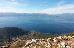 From the top (borisnaumoski) Tags: ohrid macedonia lake mountain village view sunny autumn fall tourism hiking trpejca