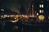 (ニノ Nino) Tags: amsterdam holland netherlands street urban night 50mm 50mmf12 kodak nikon portra 400 kodakportra kodakportra400