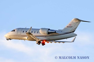 CL605 CHALLENGER N22QF