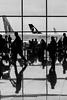 Airport (ralcains) Tags: españa spain barcelona prat aeropuerto airport flughafen reflections reflejos calle fotografiadecalle street streetphotography blackwhite bw blancoynegro schwarzweis noiretblanc monochrome monocromo monochromatic monocromatico greyscale