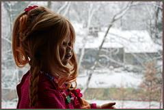 Tivis erster Schnee ... (Kindergartenkinder) Tags: kindergartenkinder annette himstedt dolls tivi advent schnee winter