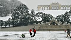 Fotoshooting (karinrogmann) Tags: vienna castellodischönbrunn schönbrunnpalace inverno winter wien park schlossschönbrunn