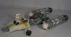 Day 11: Rebel BTL-A4 Y-Wing fighter/bomber 1