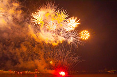 River of Light 2017 (Tony Shertila) Tags: 20171105203903 liverpool england unitedkingdom europe britain merseyside river night outdoor wirral barge fireworks display celebration guyfawkes sky explosion colour