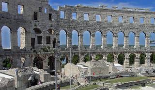Roman amphitheatre - Pula