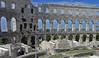 Roman amphitheatre - Pula (ARRRRT) Tags: romanamphitheatre arrrrt pula croatia adriatic jadran