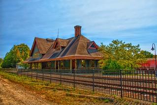 Saranac Lake  - New York - Adirondack Mountains - Union Depot  ~ NRHP  -  Historic