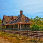 Saranac Lake  - New York - Adirondack Mountains - Union Depot  ~ NRHP  -  Historic thumbnail