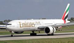A6-EGZ LMML 03-11-2017 (Burmarrad (Mark) Camenzuli) Tags: airline emirates aircraft boeing 77731her registration a6egz cn 41081 lmml 03112017