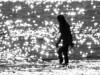Mediterranian dream (Kaarel Kaldre) Tags: meri sea vahemeri mediterranian vesi water päike sun inimene human people woman siluett silhouette mustvalge blackandwhite monochrome noiretblance outdoor puhkus vacation