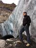 Pat at Gigjokull (sssdc1) Tags: iceland pat þórsmörk hiddenvalley thorsmork eyjafjallajökull volcano glacier gigjokull outletglacier
