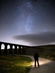 Ribblehead and me (diamond-skies) Tags: ribblehead viaduct milky way ingleton yorkshire dales starry sky nightscape astrophotography