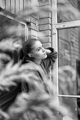 Portrait with Fujifilm X-T2+Fujifilm XF 35mm f/2 R WR black (Wajdys) Tags: woman face blackandwhite black white fujifilm xt2 35mmf2 picture photography follow4follow followme invitation cool amazing czechia europe czech republic flickr