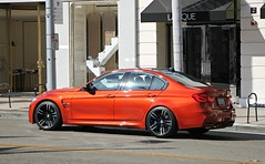 BMW M3 (F80) (SPV Automotive) Tags: bmw m3 f80 sedan exotic sports car orange