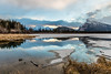 Vermillion Lakes (deirdre.lyttle) Tags: alberta banff banffnationalpark canada mountains vermillion lakes ngc snow ice rockies mount rundle