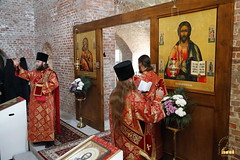 33. Первое богослужение в храме г.Святогорска 30.09.2014