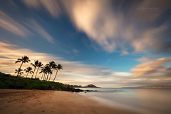 Tropic dream (PIERRE LECLERC PHOTO) Tags: maui hawaii tropical palmtrees beach dream dreamy longexposure landscape seascape sea water pacificocean hawaiianislands travel adventure nature sand southmaui maken clouds sky pierreleclercphotography canon5dsr