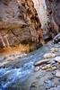 Gushing (shirley319) Tags: 2017 d600 nationalparks october southwest thenarrows utah virginriver zionnationalpark adventure hiking riverrocks rocks scenic slotcanyon water waterhiking greenville unitedstates