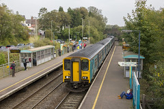 Photo of People and trains: Pontyclun, south Wales