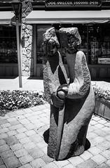 No Worries (keycmndr) Tags: arizona blackandwhite hdr sculpture sedona streetphotography