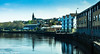 River Foyle Londonderry  UK 11 (Yasu Torigoe) Tags: viewofeastsideofderryfrombridgestreeetbridgeonthewe londonderry northernireland unitedkingdom gb viewofeastsideofderryfrombridgestreeetbridgeonthewestsideoftheriverinlondonderryuk